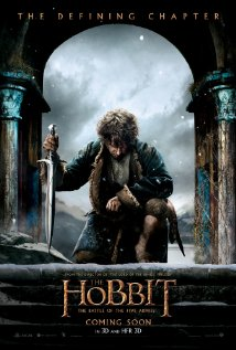 The Hobbit: The Battle of the Five Armies 2014 poster