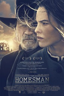 The Homesman (2014) cover