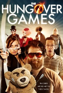 The Hungover Games (2014) cover