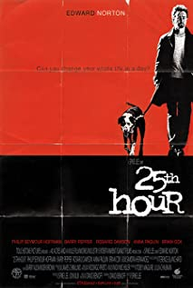25th Hour (2002) cover