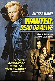 Wanted: Dead or Alive 1987 poster