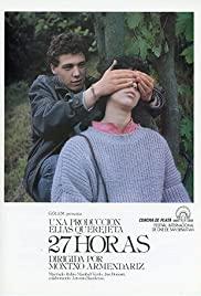 27 horas (1986) cover
