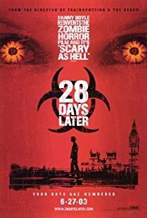 28 Days Later... (2002) cover