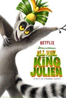 All Hail King Julien (2014) cover