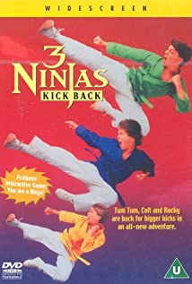 3 Ninjas Kick Back (1994) cover