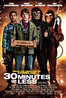 30 Minutes or Less (2011) cover