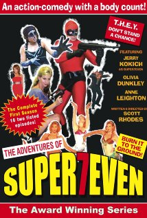 The Adventures of Superseven (2011) cover