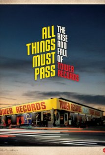 All Things Must Pass: The Rise and Fall of Tower Records (2015) cover