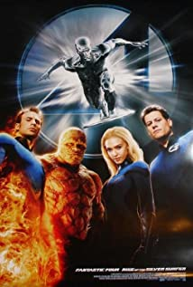 4: Rise of the Silver Surfer (2007) cover