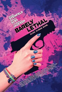 Barely Lethal (2015) cover
