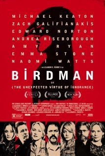 Birdman: Or (The Unexpected Virtue of Ignorance) (2014) cover