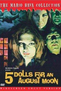 5 bambole per la luna d'agosto (1970) cover