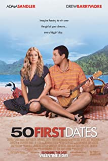 50 First Dates (2004) cover