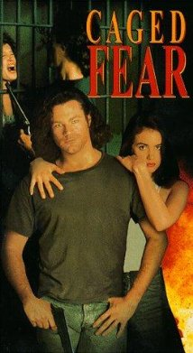 Caged Fear 1991 poster
