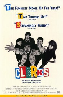 Clerks (1994) cover