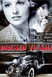 Dressed to Kill (1941) cover