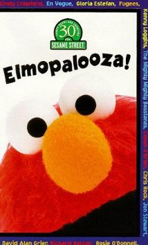 Elmopalooza! (1998) cover