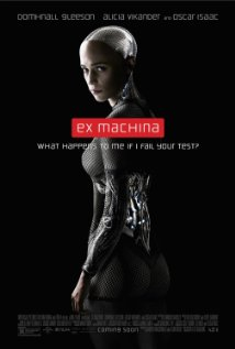 Ex Machina (2015) cover