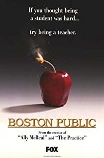 Boston Public 2000 poster