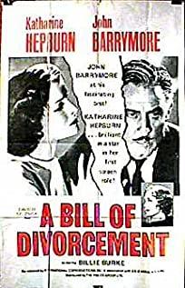 A Bill of Divorcement (1932) cover