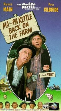 Ma and Pa Kettle Back on the Farm 1951 poster