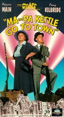 Ma and Pa Kettle Go to Town (1950) cover
