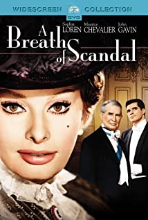 A Breath of Scandal 1960 poster