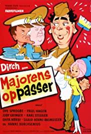Majorens oppasser (1964) cover