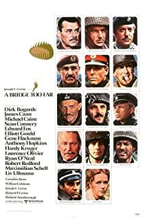 A Bridge Too Far (1977) cover