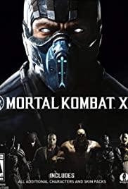 Mortal Kombat X 2015 poster