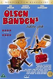 Olsen-bandens sidste stik (1998) cover