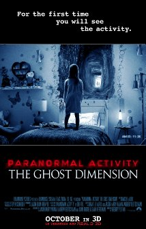 Paranormal Activity: The Ghost Dimension 2015 poster