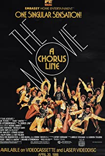 A Chorus Line 1985 poster