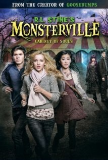 R.L. Stine's Monsterville: The Cabinet of Souls (2015) cover
