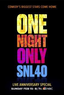Saturday Night Live: 40th Anniversary Special (2015) cover
