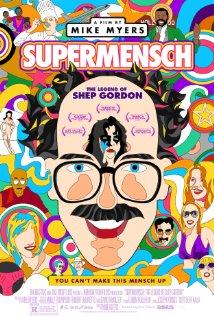 Supermensch: The Legend of Shep Gordon 2013 poster