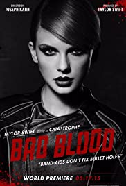 Taylor Swift: Bad Blood (2015) cover
