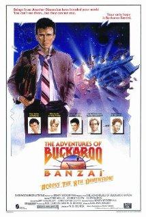 The Adventures of Buckaroo Banzai Across the 8th Dimension 1984 poster