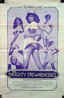 The Naughty Stewardesses (1974) cover