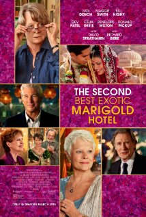 The Second Best Exotic Marigold Hotel (2015) cover