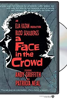 A Face in the Crowd (1957) cover