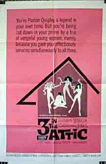 Three in the Attic (1968) cover