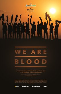 We Are Blood (2015) cover