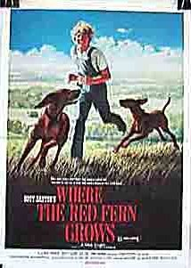 Where the Red Fern Grows (1974) cover