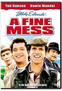 A Fine Mess (1986) cover