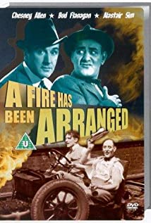 A Fire Has Been Arranged (1935) cover