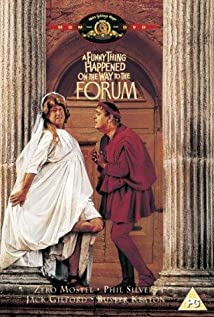 A Funny Thing Happened on the Way to the Forum (1966) cover