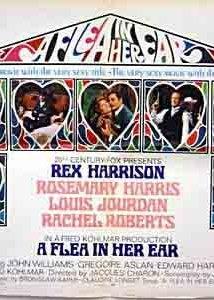 A Flea in Her Ear (1968) cover