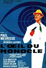 L'oeil du monocle 1962 poster