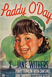 Paddy O'Day 1936 poster